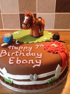 Horsey 7 year old birthday