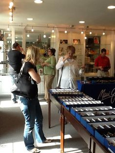 66ed25f23751 Our 2012 Oliver Peoples trunk show was a lot of fun! Madeira Optical