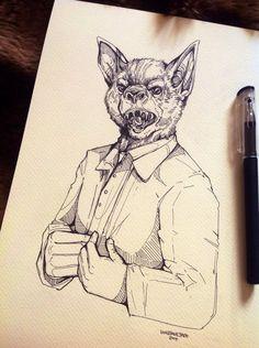The Bat Man by WolfSkullJack on DeviantArt