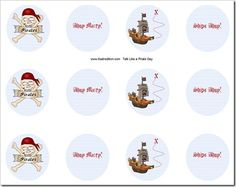Free pirate party printable