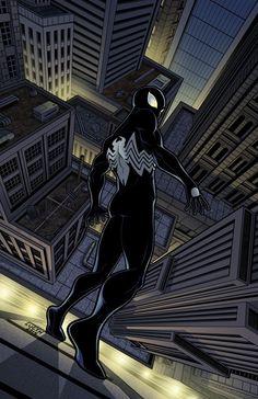 Black suit. Venom .