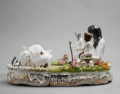 Fairytale Figurines - These Shary Boyle Sculptures Re-Create Fantasies as Surreal Statues (GALLERY)