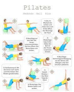 Pilates für einen flachen Bauch! http://www.brasil-workout.de/Website/Redondo_Ball_Plus.html