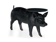 Table basse en fibre de verre de salon PIG TABLE by Moooi© design Sofia Lagerkvist, Anna Lindgren