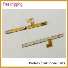 Piezas originales de teléfono Para Lenovo S860 power on/off + Botones de Volumen flex cable de reparación de Envío Libre + código de seguimiento