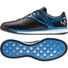 innovative design 8c81d 42d40 Adidas Messi Boost BlackBlueZero Metallic Mens Indoor Soccer Shoes …