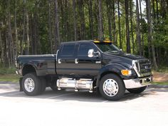 Ford F650, yes to pull my huge horse trailer....again lottery money  :)