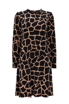 Buy Wallis Camel Giraffe Swing Dress from the Next UK online shop Latest Fashion Dresses, Latest Dress, Giraffe Print, Uk Online, Swing Dress, Camel, Going Out, Cover Up, Wallis
