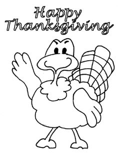 Thanksgiving #Coloring Pages