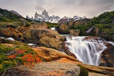 Cerro Fitz Roy, Patagonia, Chile/Argentina Border - Sergey Rumyantzev    My list of places I'd like to travel to is quite short, but I'd like to do a trek in Patagonia at some point.