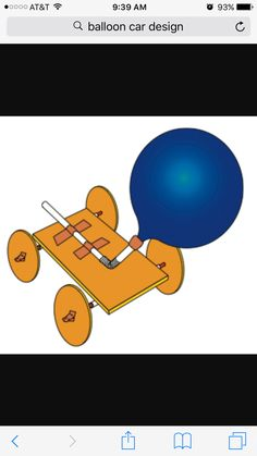 How to Make a Balloon Car. Making a balloon car is a fun craft project and educational science experiment that can be done with kids. This activity can be used to help teach kids how wind energy can be used to propel an object, as well as. Activities For 5 Year Olds, Steam Activities, Science Activities, Science Experiments, Stem Projects, Science Projects, School Projects, Projects For Kids, Craft Projects