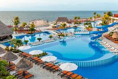 Cancun All-Inclusive Resorts: Moon Palace Cancun Best Cancun All Inclusive, All Inclusive Family Resorts, Cancun Resorts, Mexico Resorts, Beach Resorts, Luxury Resorts, Caribbean Vacations, Tulum Mexico, Caribbean Sea