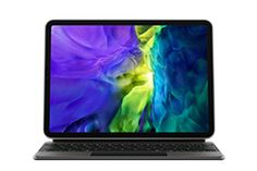 Amazon.com: Apple Magic Keyboard for iPadAir (4th Generation) and iPadPro 11-inch (2nd Generation) - US English Ipad Pro 2, Usb, Buy Apple, Apple Magic, Multi Touch, Travel Design, Apple Ipad, Keyboard, Keys