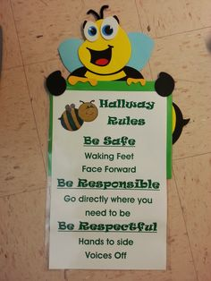 PBIS hallway rules...again can adapt for my preschool class room