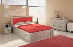 Łóżko sosnowe Visby Kronoberg High Drawers (z szufladami) Drawers, Bed, Inspiration, Furniture, Home Decor, Biblical Inspiration, Homemade Home Decor, Stream Bed, Drawer