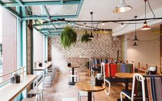 Fonda Mexican restaurant in Flinders Lane Melbourne, designed by Techné Architects.