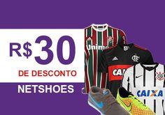 Cupom de desconto Netshoes, R$30 de desconto -> http://desconto.gratis/cupom/cupom-netshoes-r30-de-desconto/