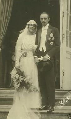 Their Royal Highnesses Prince René and Princess Margaret of Bourbon-Parma. Married June 9,1921.