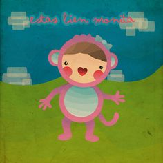 Monita by Sien One, via Behance