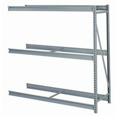 "Bulk Storage Rack Add-On, 3 Tier, Without Decking, 60""Wx36""Dx84""H, Putty by LYON WORKSPACE PRODUCTS. $194.95. Bulk Storage Rack Add-On, 3 Tier, Without Decking, 60""Wx36""Dx84""H, Putty Heavy gauge steel uprights and beams. Adjustable on 1-1/2"" centers. 1650-3300 lbs. capacity per pair of beams. Weight Capacity based on evenly distributed load. 10,000 lbs. per upright assembly."