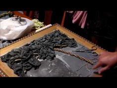 Pasta de madera casera, para bajo relieve, para todo tipo de manualidades faciles - YouTube