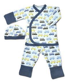 Amazon.com: Kids on the Bus Side Snap Set; Preemie (3-6lbs) Size: Clothing