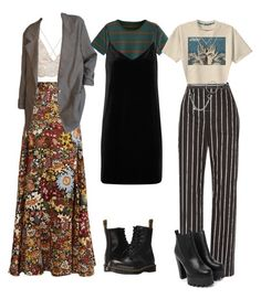 """prom ideas"" by morganrooke ❤ liked on Polyvore featuring Peter Pilotto, rag & bone/JEAN, Dr. Martens, Balenciaga, Retrò, Nasty Gal, Charlotte Russe and McQ by Alexander McQueen"