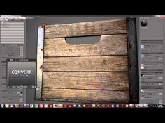 PBR Game Asset Creation Part 7 - Texturing in Substance Painter - YouTube