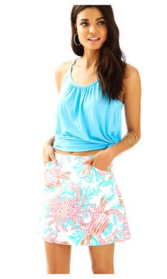 Check out this product from Lilly - Marigold Skort  https://www.lillypulitzer.com/product/bottoms/marigold-skort/c/244/9327.uts