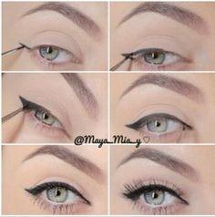 Line eyes