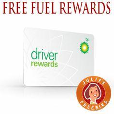 FREE BP Driver Reward card (10 cents off per gallon of gas)