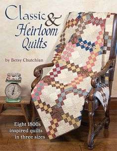 Classic & Heirloom Quilts by Betsy Chutchian - Fat Quarter Shop's Jolly Jabber