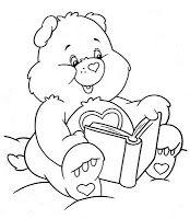 Sonhando com cores: Ursinhos Carinhosos - lindos desenhos para colorir
