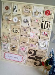 still looking for an advent box/drawer (unfinished) like this to make this project!