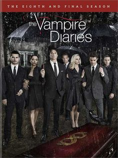 The Vampire Diaries - Package Art for 'The Complete 8th and Final Season' on DVD, Blu