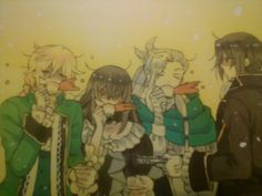 "Jack, Lacie, Levi, and Oswald ||| Pandora Hearts ""There Is"""