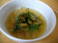冬瓜ときゅうりの冷製スープ