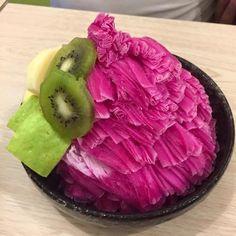 cactus snow ice | Taiwanese Dessert