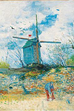 Moulin de la Galette, de Vincent van Gogh, Galería Dickinson.
