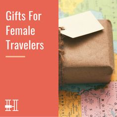 Lots of ideas of what to buy as gifts for female travelers Jewelry Roll, Travel Jewelry, Mighty Wallet, Her Packing List, Map Puzzle, Engineer Prints, Paris Map, Amazon Gifts, Toiletry Bag