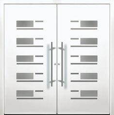 Modern Entry Doors - Modern Entry Door Home Door Design, Home Stairs Design, Door Design Interior, Modern Entry Door, Modern Exterior Doors, Entry Doors, Modern Windows And Doors, Modern Driveway, Double Front Doors
