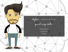 Stephen - Graphic Designer