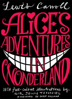 Alice's adventures in Wonderland- Lewis Carroll    WANT TO READ. so badly.