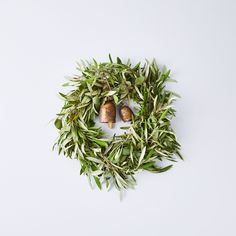 Creekside Farms Vintage Bell Olive and Eucalyptus Wreath - Dwell Modern Christmas Decor, Christmas Decorations, Christmas Ornaments, Holiday Decor, Christmas Design, Christmas 2019, Xmas, Eucalyptus Wreath, Wreaths And Garlands