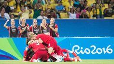 Olimpíadas Rio 2016: Alemanha passa por retranca sueca e leva o ouro no futebol…