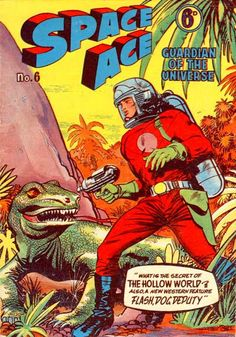 Cover for Space Ace (Atlas Publishing, 1960 series) #6