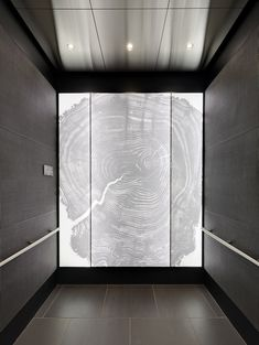 Eklund's Custom Elevator Interiors and Custom Elevator Cabs Wooden Facade, Wooden Slats, Modern Interior, Interior Architecture, Interior Design, Elevator Lobby Design, Lift Design, Design Design, House Design