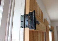 Nice Interior Cedar Shutters Hardware Detail