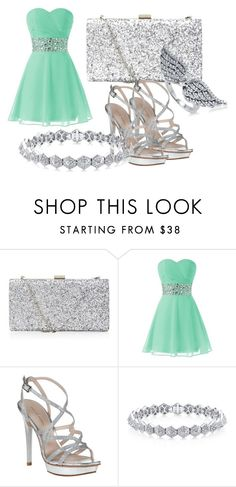 """my ballroom outfit"" by desiremerriam ❤ liked on Polyvore featuring Pelle Moda and BERRICLE"