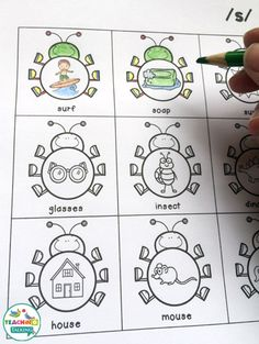 Print and go articulation speech therapy activities. Repinned by SOS Inc. Resources pinterest.com/sostherapy/.
